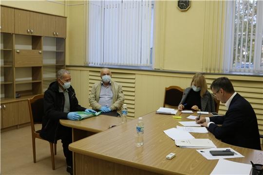 Министр Александр Героев провел прием граждан