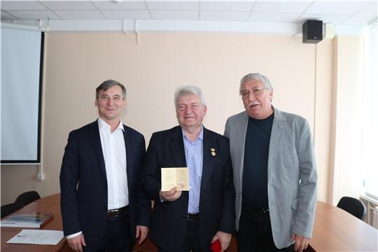 Александр Шевлягин награжден почетным званием «Заслуженный архитектор Чувашской Республики»