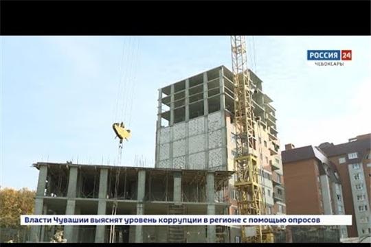 В Чебоксарах сдачу дома в ЖК Гагаринский перенесли почти на полтора года