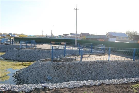 В Батрыевском районе открыты две новые общественные территории