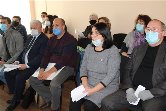 Состоялось очередное заседание Градостроительного совета  Минстроя Чувашии