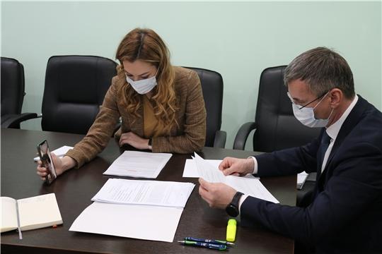 Министр Александр Героев провел личный прием граждан от партии «Единая Россия»