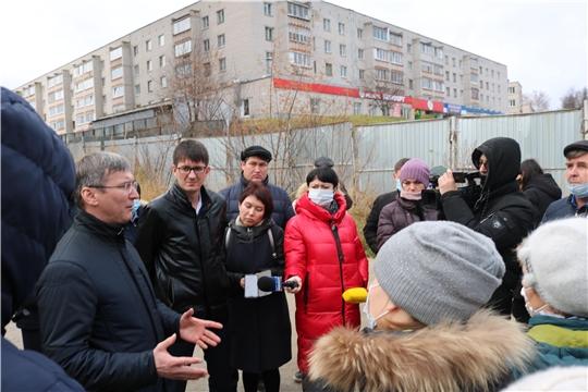 Минстрой Чувашии провел встречу с дольщиками двух проблемных объектов ООО «Альянс-Недвижимость»