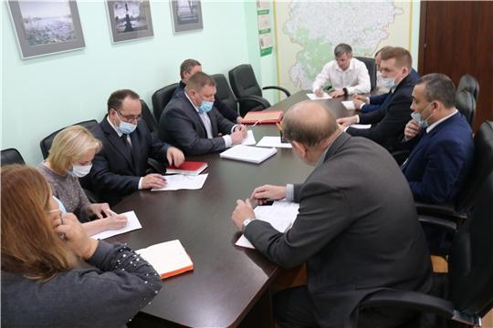Министр Александр Героев взял под личный контроль строительство очистных сооружений в с. Янтиково