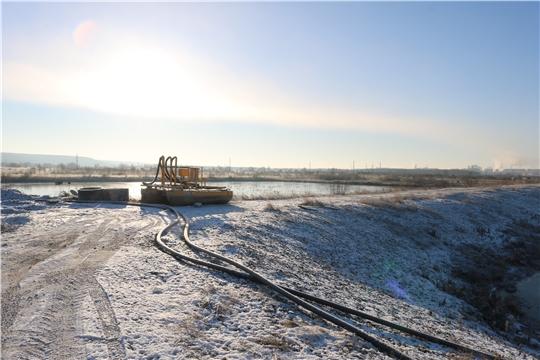 ГУП «БОС» рекультивирует шламонакопители, наносящие вред экологии г. Новочебоксарск