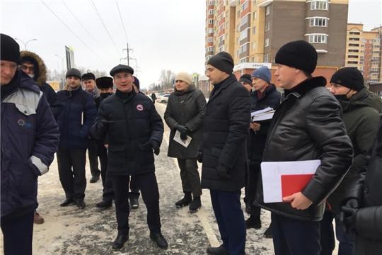 Министр Александр Героев ознакомился с дорогой, построенной в микрорайоне  «Университет»