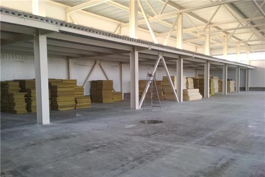 На территории Индустриального парка г. Чебоксары (2 очередь) введен в эксплуатацию первый промышленный объект