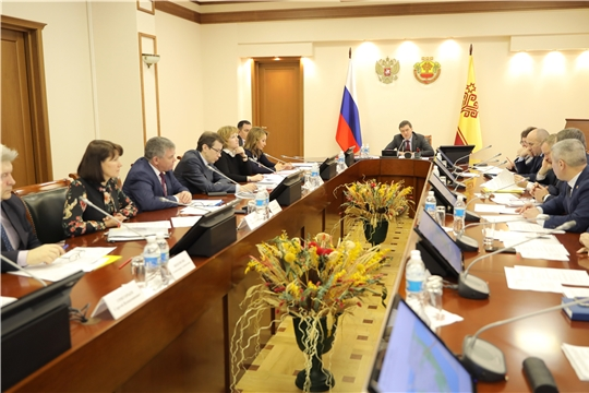 Состоялось заседание рабочей группы по подготовке и проведению празднования 100-летия образования Чувашской автономной области