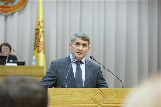 Врио Главы Чувашии Олег Николаев: «Если мы консолидируемся, объединим возможности и усилия каждого, мы сможем добиться хороших результатов за достаточно короткие сроки»