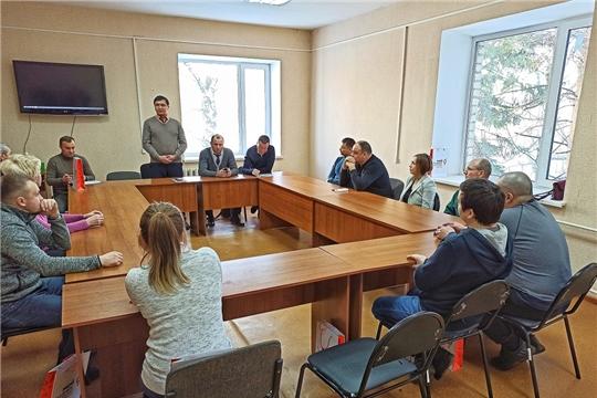 Состоялось совещание о мерах государственной поддержки предпринимательства в технопарке «Интеграл»