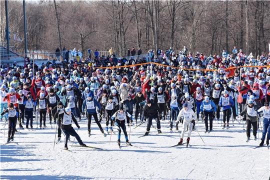 Лыжня России в Чувашии: участниками регионального этапа легендарной массовой гонки стали около 47 тысяч человек
