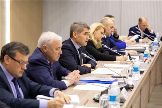 Состоялось первое заседание Высшего экономического совета Чувашской Республики