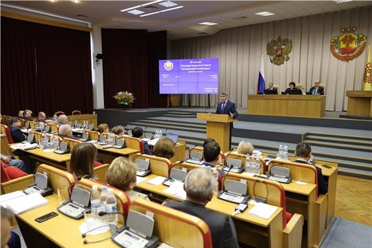 Госсовет Чувашии направит обращение в Правительство Российской Федерации по вопросу о дополнительных мерах поддержки экономики региона