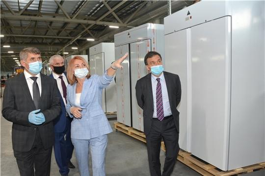 Олег Николаев дал старт производству холодильных шкафов коммерческого назначения в Канаше