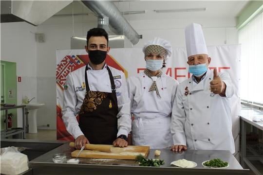 В ЧКИ РУК снова встретились кулинары Чувашии и Узбекистана