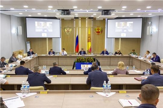 О предварительных итогах социально-экономического развития Чувашской Республики за I полугодие 2020 года