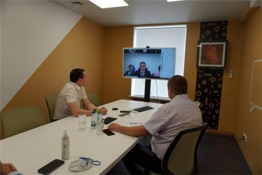 Чувашские товаропроизводители провели онлайн-переговоры с торгпредством Азербайджана