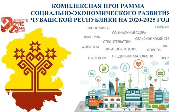 Комплексная программа социального-экономического развития Чувашской Республики на 2020-2025 годы на сайте Минэкономразвития Чувашии
