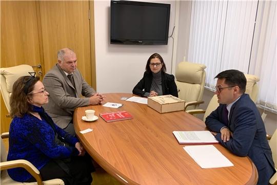 Прошла рабочая встреча с представителем Российской ассоциации международного сотрудничества