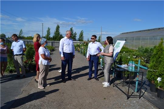 Дмитрий Краснов посетил Мариинско-Посадский, Цивильский и Чебоксарский районы