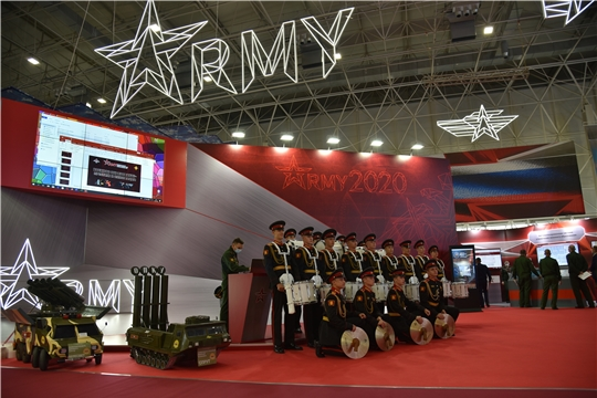 Проходит Международный военно-технический форум «Армия-2020»