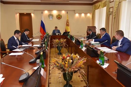Олег Николаев провел заседание Совета при Главе Чувашской Республики по стратегическому развитию и проектной деятельности
