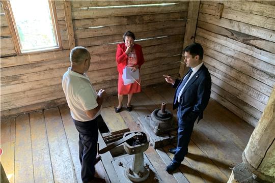 Дмитрий Красновс рабочим визитом посетил посетил Аликовский, Красноармейский и Вурнарский районы