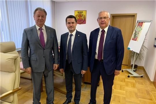 Дмитрий Краснов встретился с председателями Центросоюза и Чувашпотребсоюза