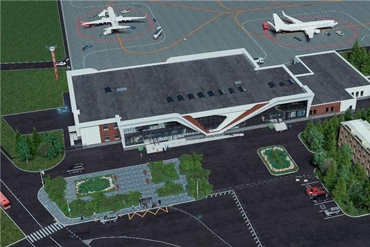 Представители СМИ узнали подробности о реконструкции чебоксарского аэропорта