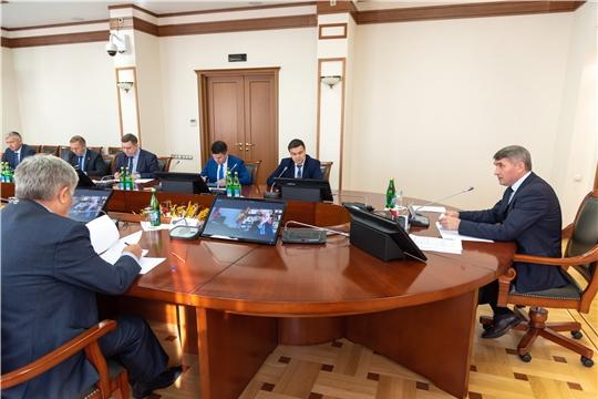 В Доме Правительства обсудили ход исполнения национальных проектов на территории Чувашской Республики