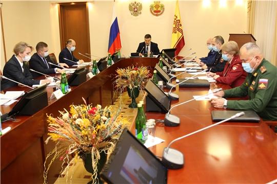 Состоялось заседание Координационного совещания при Главе Чувашской Республики по обеспечению правопорядка