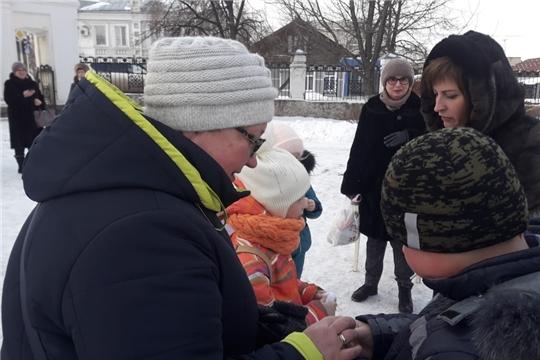 Городской парк пригласил юных алатырцев на детскую игровую программу, посвящённую рождественскому празднику