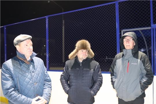В Алатыре обсудили вопрос, касающийся освещения стадиона «Спутник»
