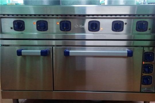 В дошкольные учреждения Алатыря поступило новое кухонное оборудование и мебель