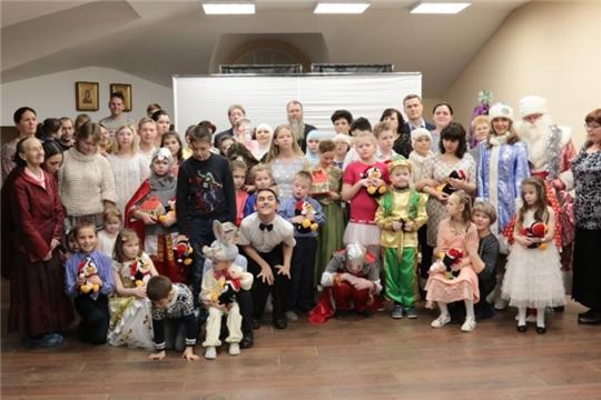 В Алатыре прошла Рождественская ёлка для детей-инвалидов
