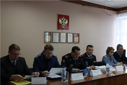 В МО МВД РФ «Алатырский» подведены итоги оперативно-служебной деятельности за 12 месяцев 2019 года