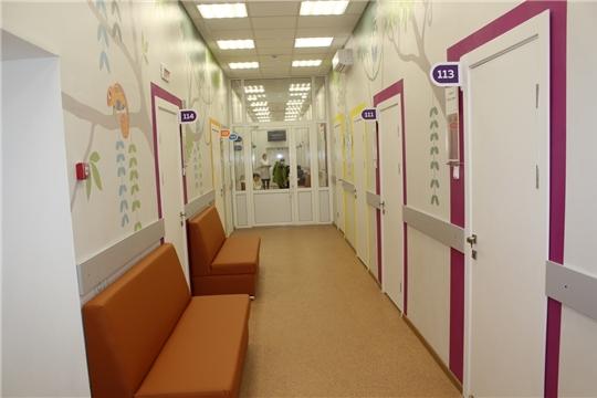 Детская поликлиника начала работу после капитального ремонта