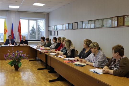 Совещание с руководителями образовательных организаций Алатыря