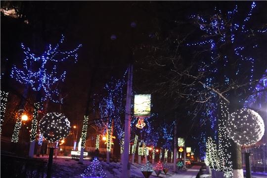 В Алатыре подведены итоги ежегодного городского конкурса на лучшее световое оформление «Огни родного города»
