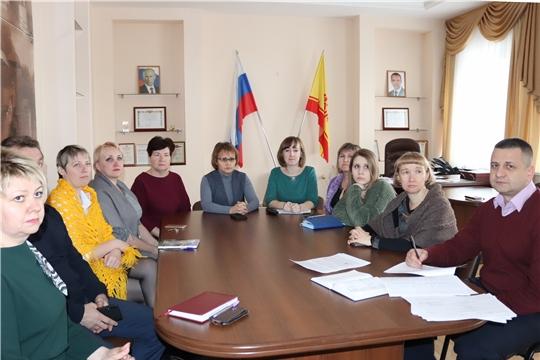 Работники алатырской администрации ознакомились с Посланием Главы Чувашии Государственному Совету Чувашской Республики
