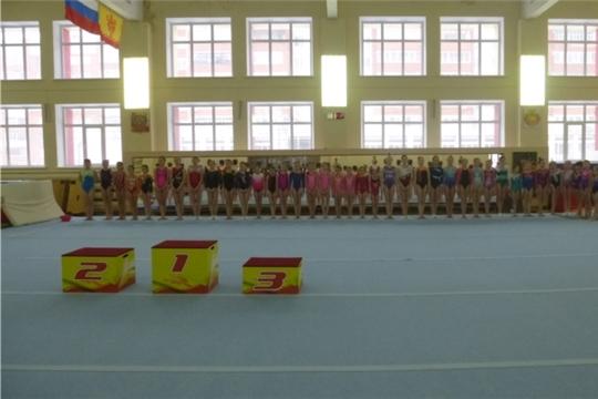 Алатырские гимнастки – победители и призёры республиканских соревнований