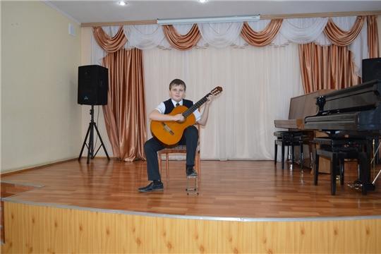 Учащийся Алатырской детской школы искусств – призёр V Межрегионального конкурса «Гитара многоликая»
