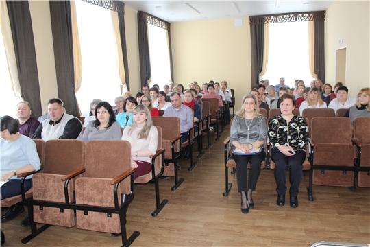 В Алатырской центральной районной больнице подвели итоги работы за 2019 год