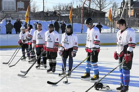 Большой хоккейный турнир в Алатыре
