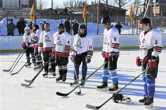 В Алатыре прошёл большой хоккейный турнир