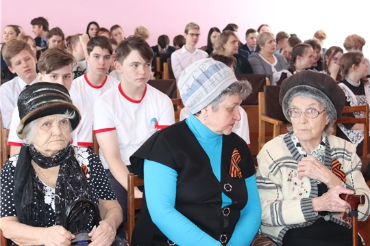 Вручение юбилейных медалей в Алатыре