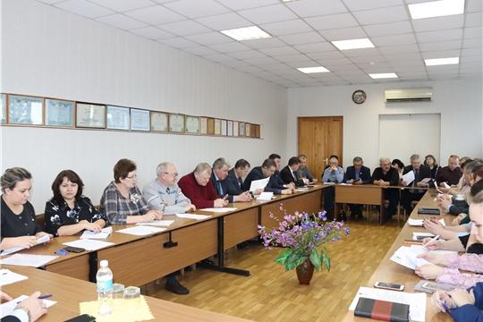 Очередное заседание Собрания депутатов города Алатыря