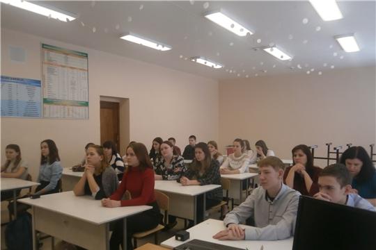 г. Алатырь: в рамках оперативно-профилактического мероприятия «Условник» в школе №2 прошёл информационный день