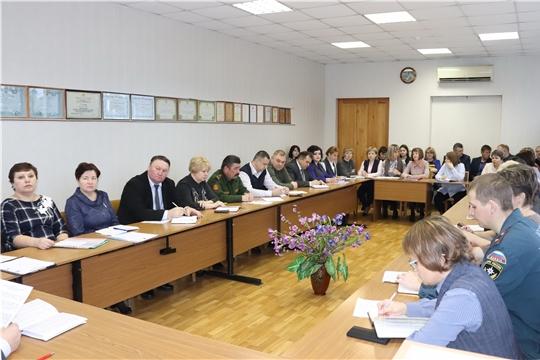 В ходе ежемесячного совещания в алатырской администрации намечены основные направления предстоящей работы