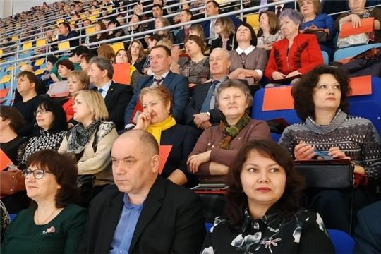 Алатырцы приняли участие в торжественном мероприятии, посвящённом старту празднования 100-летия образования Чувашской автономной области